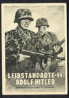 Waffen-SS picture post-card: 'LSSAH'