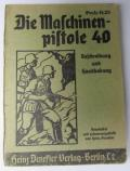 WH instruction-booklet 'Die MP40'