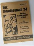 WH instruction-booklet: 'Die Handgranate 24'