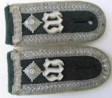 Pair of WH (Heeres) straps: 'Wachbataillon Berlin'